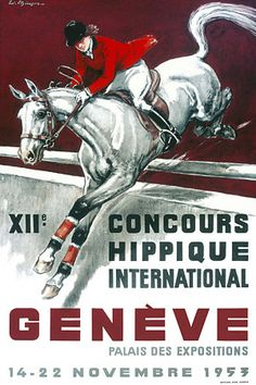International Equestrian Horse Showjumping Posters and Prints