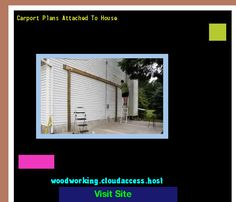 Carport Plans Attached To House 205339 - Woodworking Plans and Projects!