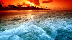 Beautiful Ocean Sunset Wallpaper for PC Full HD Pictures All Beautiful Sunset, Beautiful World, Beautiful Places, Beautiful Pictures, Amazing Pics, Beautiful Flowers, Ocean Sunset, Sea And Ocean, Hawaiian Sunset