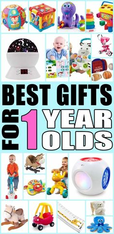 Best Gifts For 1 Year Old