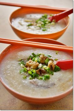 Congee.   Need some real chinese congee right now.