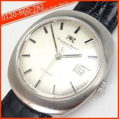 Iwc アンティーク OH済IWC自動巻60 70年代シルバー 本物 時計 Watch Antique ¥140000yen 〆05月21日