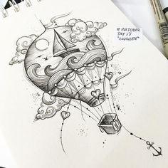 """""""Give me the sea!"""" Kitsune Tattoo – Bc ✖️Tr … – # … - tattoo tatuagem Give me the sea! Pencil Art Drawings, Art Drawings Sketches, Doodle Drawings, Tattoo Sketches, Easy Drawings, Drawing Art, Ocean Drawing, Cool Simple Drawings, Cool Tattoo Drawings"""