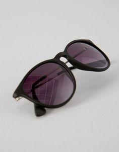 Bershka Panamá - Gafas de sol patilla metálica