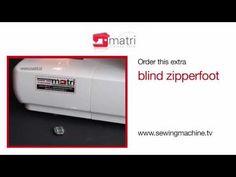 Instruktie films Films-Blindzomen-van alle naaimachines en lockmachines, hier leert u uw machine kennen