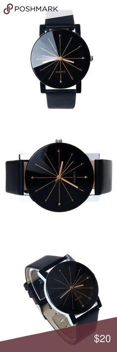 Folsom & Co. black 'Lincoln' watch Folsom & Co. black 'Lincoln' watch - brand new in packaging Folsom & Co.  Accessories Watches