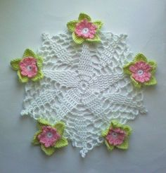 Knitting Gallery: crochet flower pattern
