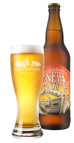 New Growth Pale Ale - Driftwood Brewery | #barsnacks