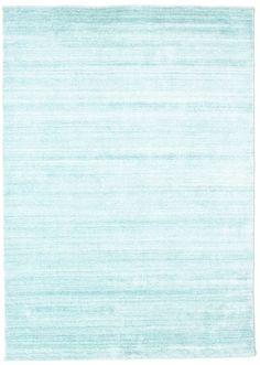 Bamboe zijde Loom - Lichtblauw tapijt CVD15274