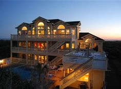 All I can say is WOW!!!!  Oceanfront home in Pine Island, NC