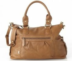 OiOi Tan Leather Slouch Tote Diaper Bag-OiOi Tan Leather Slouch Tote Diaper Bag This fashion forward soft leather slouch tote is the ideal bag for sophisticated mums. You will have trouble convincing your friends it is a baby bag it looks so good. Baby Nappy Bags, Best Baby Strollers, Leather Diaper Bags, Leather Bags, Tan Bag, Changing Bag, Diaper Bag Backpack, Balenciaga City Bag, Online Bags