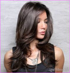 cool Layered haircuts for girls with thick hair