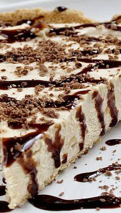 * No Bake Frozen Peanut Butter Pie | Butter With a Side of Bread