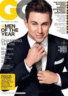 Channing Tatum - Man of the Year - Suits Up for GQ