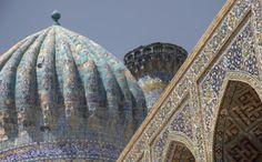 Uzbekistan is a fabulous destination for ogling at beautiful buildings http://www.originaltravel.co.uk/central-asia/uzbekistan