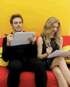 Imagem de interview, Natalie Dormer, and guacamole