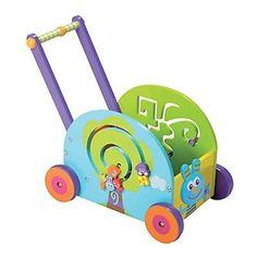 3f6e13df06c Boikido Wooden Push & Play Rabbit Walker Wagon