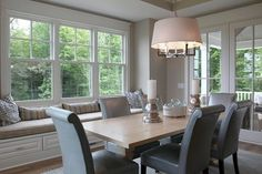 How To Design My Window Seat For The Dining Room