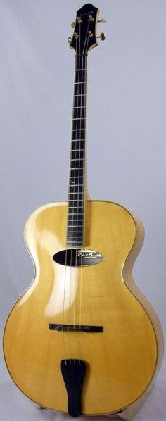 Benedetto Plectrum Guitar ~ https://www.pinterest.com/lardyfatboy/