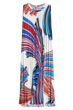 Emilio Pucci - Printed Dress with Pleats