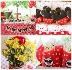 Minnie Mouse Birthday Party via Kara's Party Ideas | KarasPartyIdeas.com (4)