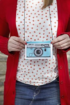 Retro Camera Pouch
