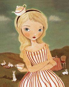 Alice In Wonderland by thelittlefox