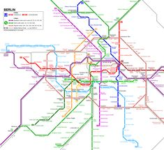 Berlin U-Bahn and S-Bahn Network - Click to expand!