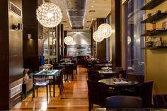Plaza Cafe Restaurant @ GDM Megaron Luxury Hotel in Crete, Greece.