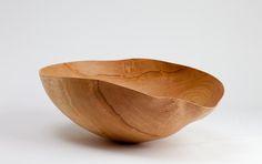 Green oak bowl