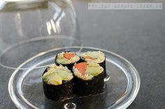 Rezept: Quinoa Sushi   Projekt: Gesund leben   Blog über Ernährung, Bewegung und Entspannung