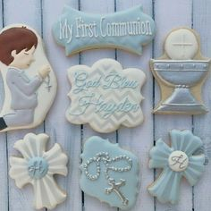 Special first communion cookies