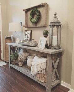 34 Cozy Farmhouse Living Room Decor Ideas