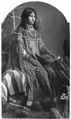 """Daisy, White Mountain Apache"" :: Palace of the Governors Photo Archives, Ben…"