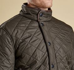 This Cheslea-style winter jacket for men is constructed with polar quilt material for a supremely lightweight, cozy fit. Stand collar lends an edgy feel to the overall design, along with slanted snap pockets and zipper pocket. Zip front with snap storm flap. Rear snap tabs for slight adjustments at the waist. 100% polyester outer. Washable. Imported. <br />Sizes: S(34-36), M(38-40), L(42-44), XL(46-48), XXL(50-52).  <br />For best fit, order one size up from your normal ...
