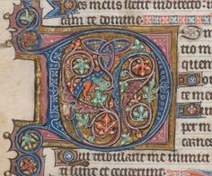 . D is for David. Add MS 24686 f. 26v @BLMedieval