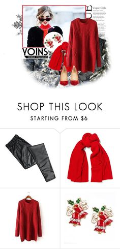 """YOINS 31"" by emily-5555 ❤ liked on Polyvore featuring Christian Louboutin"