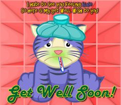 Share and send this get well soon ecard to a sick person. Free online My Get Well Wish To You ecards on Everyday Cards