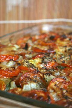 tian légumes du sud   Invitations gourmandes
