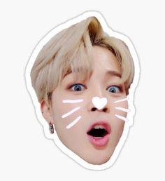 BTS JIMIN Sticker