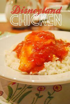 lizzy writes: disneyland chicken