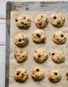 tinykitchenvegan:  Vegan Mini Chocolate Chip Cookies  Follow Us...