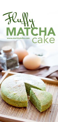 The weekend is approaching, which means we have a perfect excuse to indulge in some delicious, guilt-free Matcha cake. For this weekend, I have decided to tran