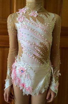 Competition Rhythmic Gymnastics Leotard - SOLD on Etsy, $600.00