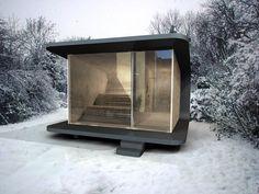 Marvelous Die edle Sauna f r Ihren Garten oder Ihre Dachterrasse kompakt und dennoch mit h chstem Komfort Garten Pinterest Squares Saunas and Boxes
