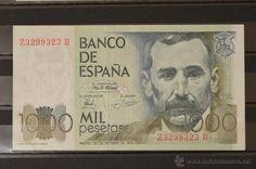 1000 PESETAS DEL 23 DE OCTUBRE DE 1979 ESPAÑA SERIE ZB
