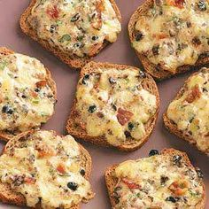 Cheese Rye Appetizers Recipe | Taste of Home Recipes Very similar to ...