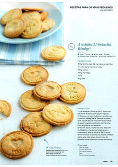Revista bimby setembro 2015 por Ricardo Fernandes Baby Food Recipes, Cookie Recipes, Confort Food, Kitchen Reviews, Kitchen Time, Tasty, Yummy Food, Portuguese Recipes, Happy Foods