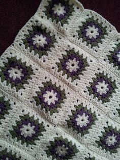 Ravelry: Square for an Afghan pattern by A.M.