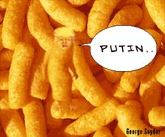 Trump meets with Putin..by George Snyder - LOL